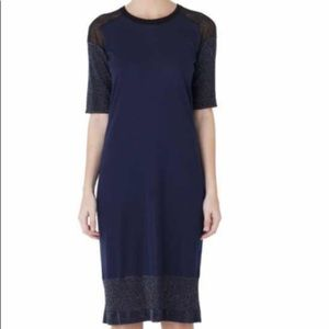 Lanvin dark blue dress